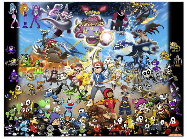 File:Hoopa And The Clash of Ages Poster.png