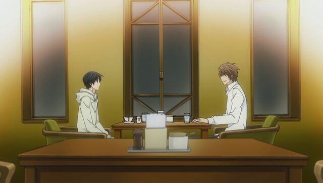 File:Kisa and Yukina at the cafe ep08.jpg