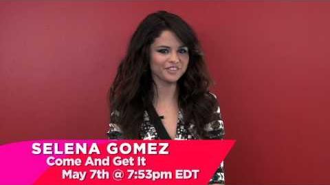 Selena Gomez - Come & Get It (teaser)