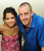 Selena and her step-dad