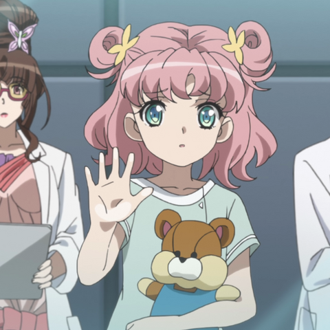 Finé as Ryoko observing Serena alongside Maria.