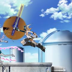 Hibiki activating Durandal