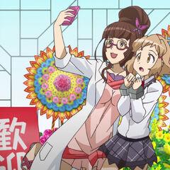 Ryouko and Hibiki