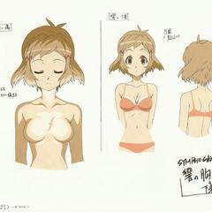 Hibiki's Underwear and Scar