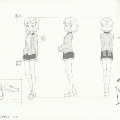 Miku's School Uniform Design Sheet