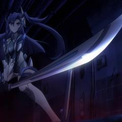 Tsubasa preparing to fight