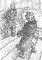 Septimus and Tod in Wizard Tower