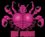 Valentine crab louse