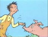 Pete briggs is a pink pig, big pig patter