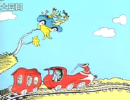 A train! a train!