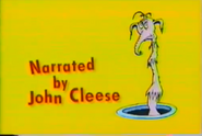 Narrated by john cleese