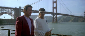 Kirk and Spock in San Francisco