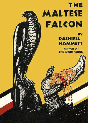Maltese falcon book cover