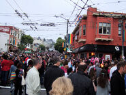 Castro crowd