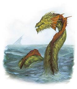 Morskie smoczysko