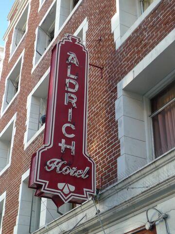 File:Aldrich hotel sign.JPG