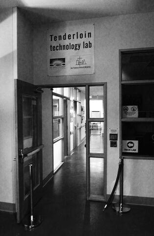 File:Entrance to tech lab.jpg