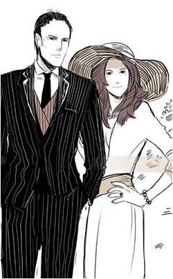 Mr and Mrs Dene
