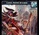 Loest, Savior of Layar