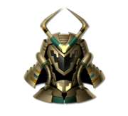 Helm cyber samurai