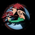 Girl shuriken