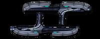 Weapon tonfa guns