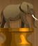 Crouching Elephant1 (Bronze)