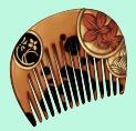 Colorful comb