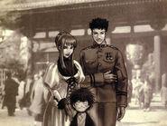Karin, yuri, and ben illustration