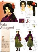 Saki inugami concept art