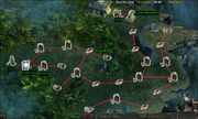SLO - Quest 38 - Sacrificial Forest of Heroes - route map