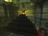 Shadowman temple of fire steps