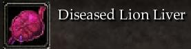 Diseased Lion Liver