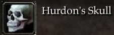 Hurdon's Skull