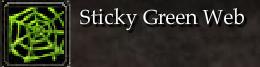 Sticky Green Web