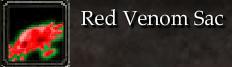 Red Venom Sac