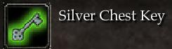 Silver Chest Key