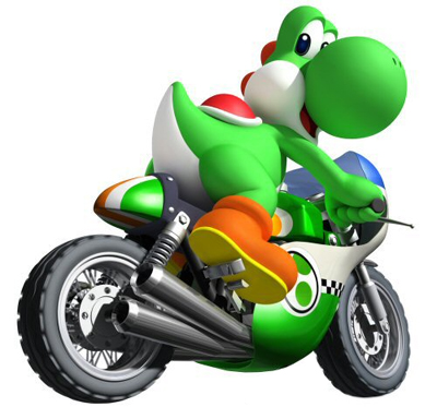 File:Yoshi on Bike.png