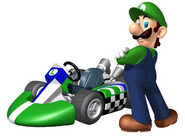 Luigi and his Kart