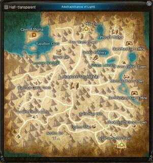 Map Adellia Clean