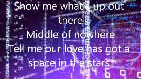 A space in the stars -Drew Seeley lyrics! FULL SONG! (from Shake it up)
