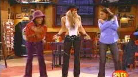 Taina-Shakira teaches Taina the dance