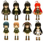 Konami Figumate figures