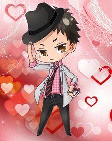 Benkei Musashibo - Valentine's Day Chibi