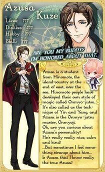 Azusa Kuze character description (1)