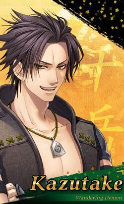 Kazutake - Character
