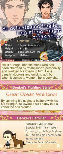 Benkei Musashibo character description (1)