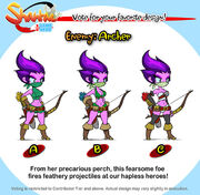Hgh archer design