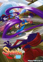 Shantae whoosh by luzeke-d6p4v7p