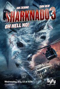 Sharknado 3 poster 001
